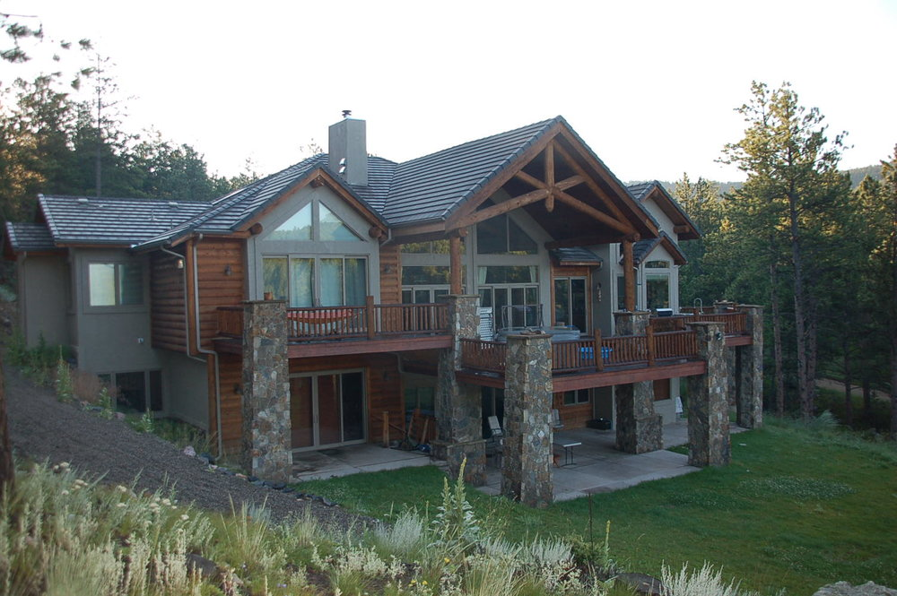 Upper Bear Creek Colorado Custom Home