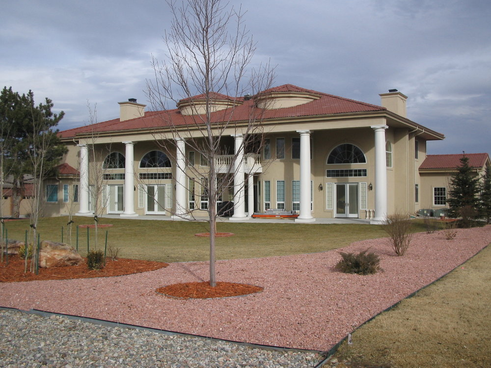 Lake Road Colorado Custom Home
