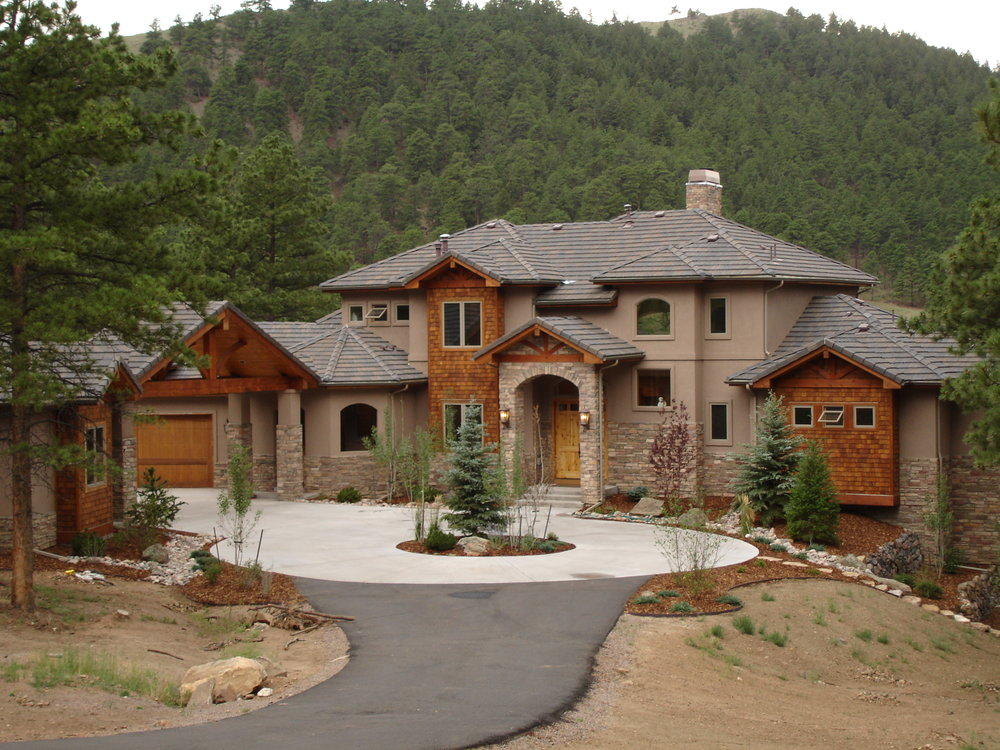 Silver Rock Colorado Custom Home